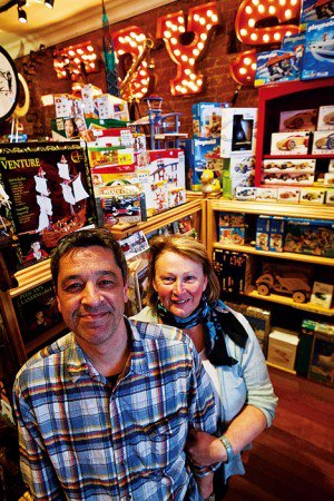 Brett and Susan Sommer, owners of Figpickels in Cour d'Alene, Idaho.