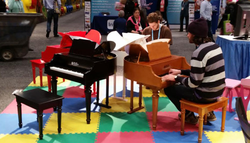 butterfly pianos