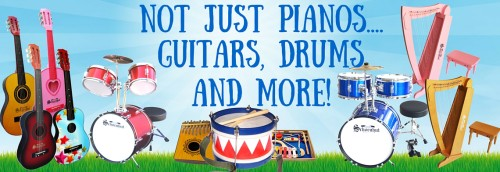 Not just Pianos....
