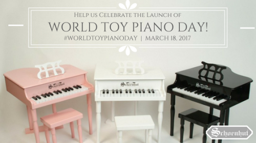 #WorldToyPianoDay